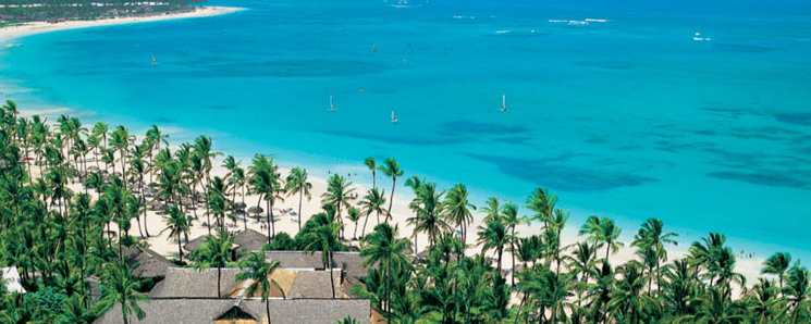 Punta Cana é eleito por muitos brasileiros o paraíso na terra.