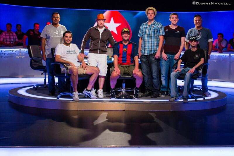 Mesa Final do EPT Barcelona