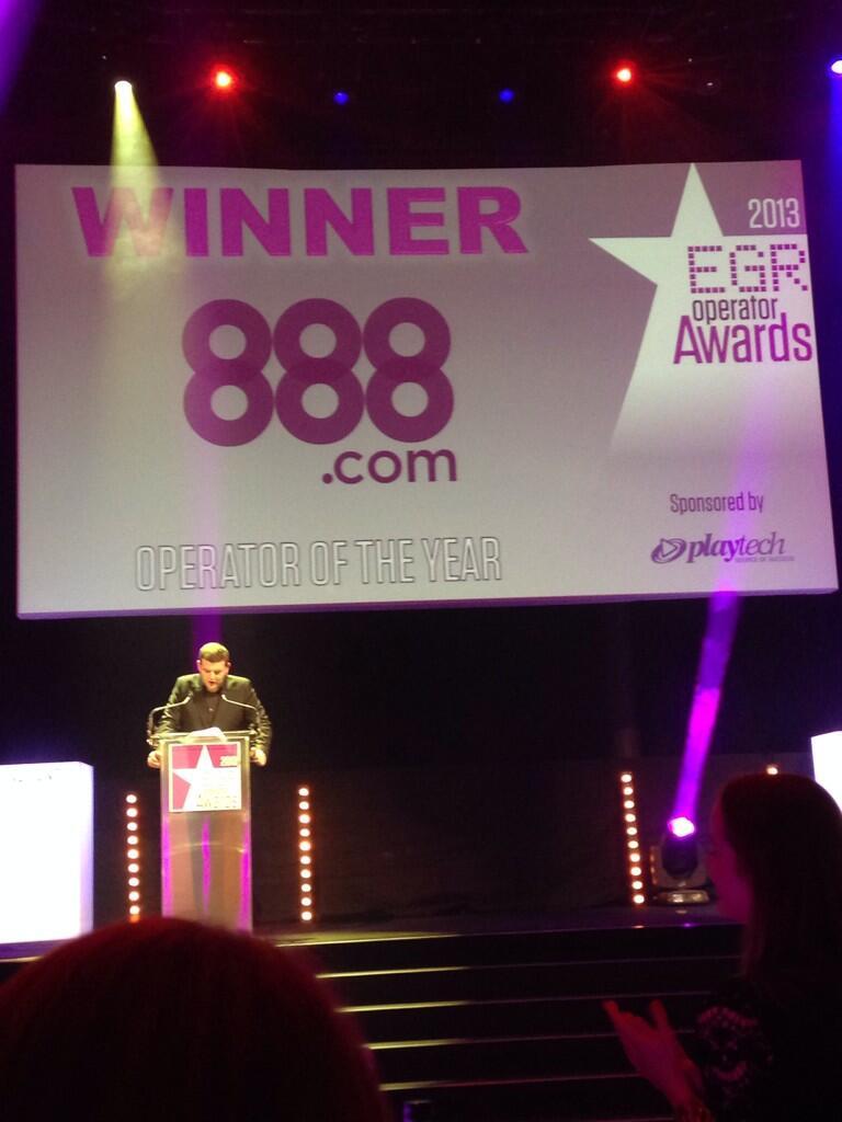 888 detona no EGR e os principais prêmios.