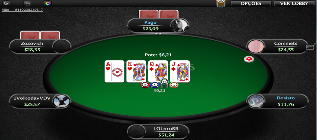 Ícone mobile do PokerStars