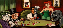 vilões fichas de poker