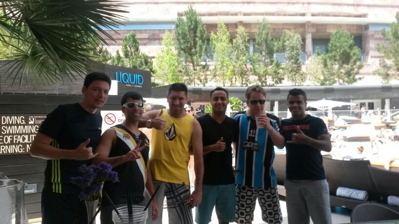 BestPoker Team Brazil Pool Party