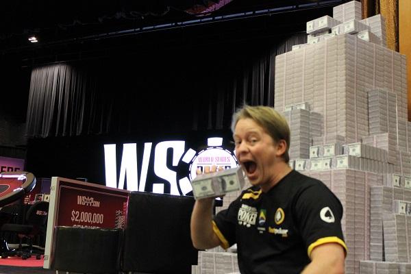 Magnus Mueller WSOP Cash