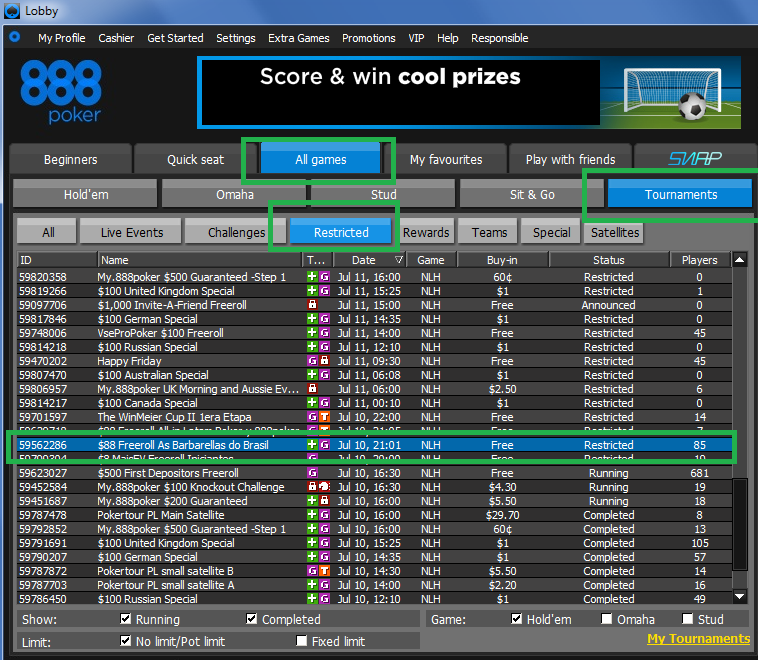 Freeroll Barbarellas