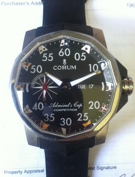 Relógio Jerry Yang leilão ebay