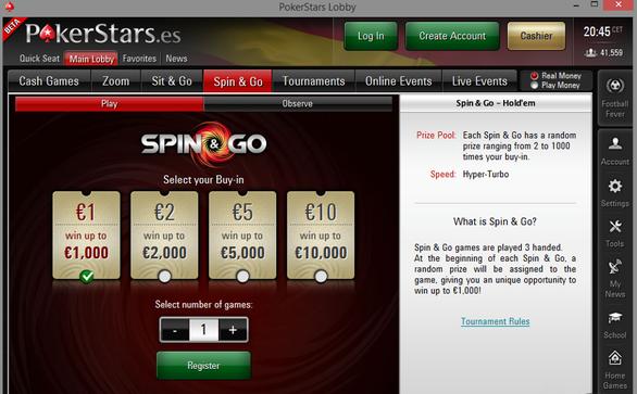 Spin Go PS ES