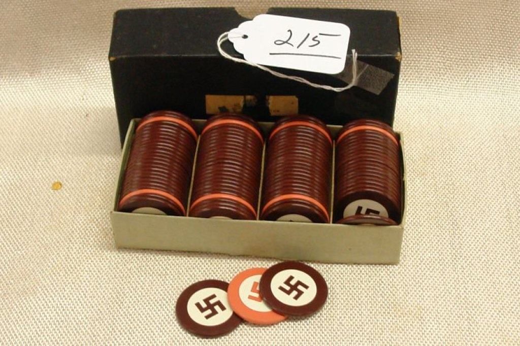 fichas de poker nazistas