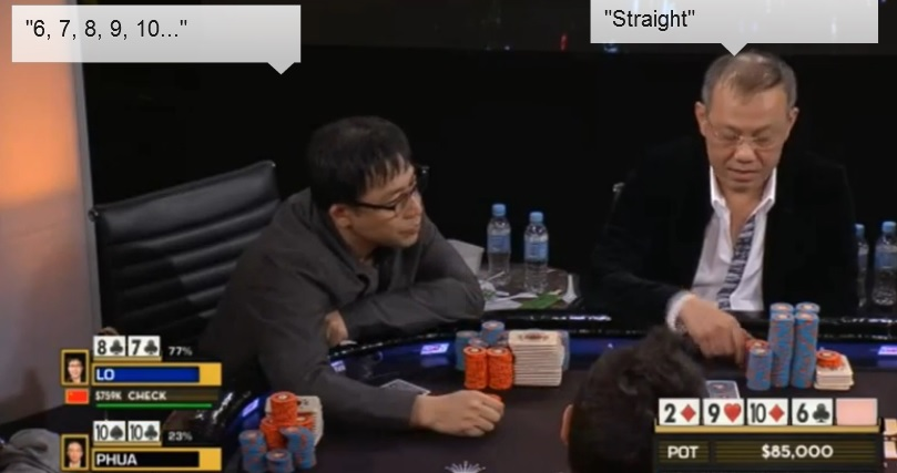 Aussie Millions Straight Paul Phua Lo Shing