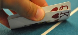 KQ mão poker