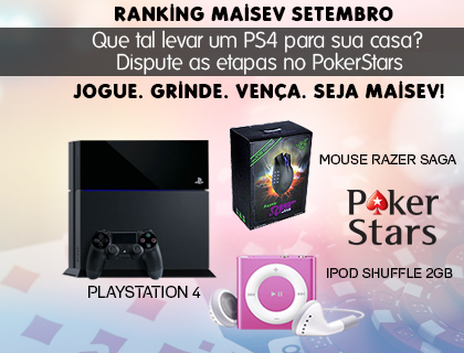Ranking MaisEV setembro