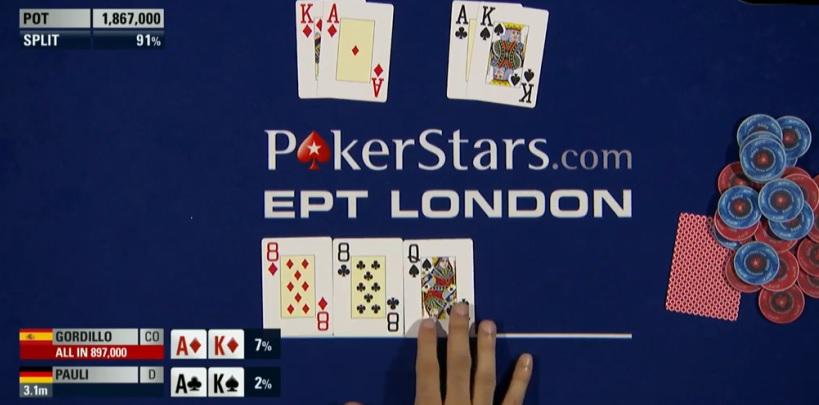 EPT Londres Flop