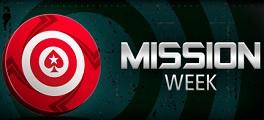 Semana de Missões PokerStars Logo
