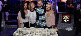 Martin jacobson Campeão Suecas WSOP