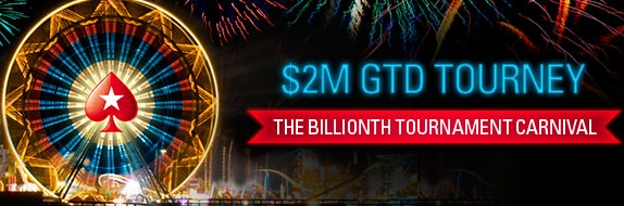 torneio 1 bilhão pokerstars logo