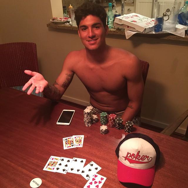 Gabriel medina Poker