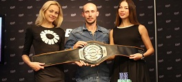 Mikael Blomlie Campeão TonyBet