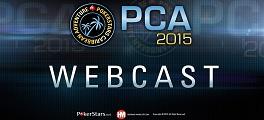 PCA 2015 transmissão