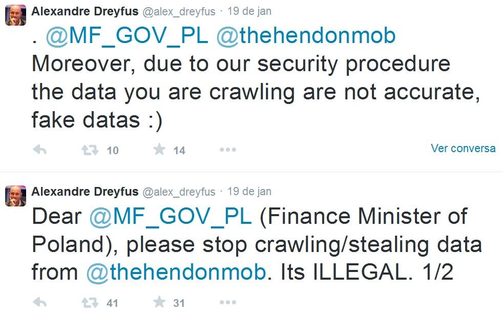 Twitter Alexandre Dreyfus Hendon Mob