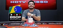 João Bauer campeão BSOP SP