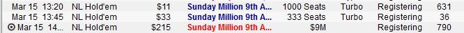 Sunday Million Satellites