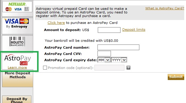 astropay card 888poker