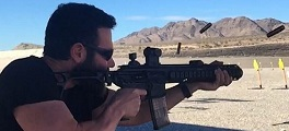 Dan Bilzerian arma