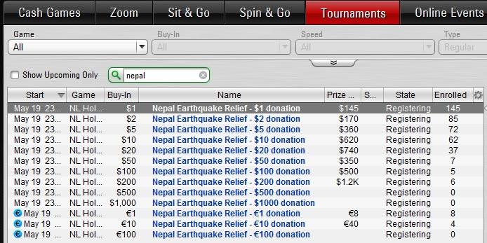 lobby nepal pokerstars