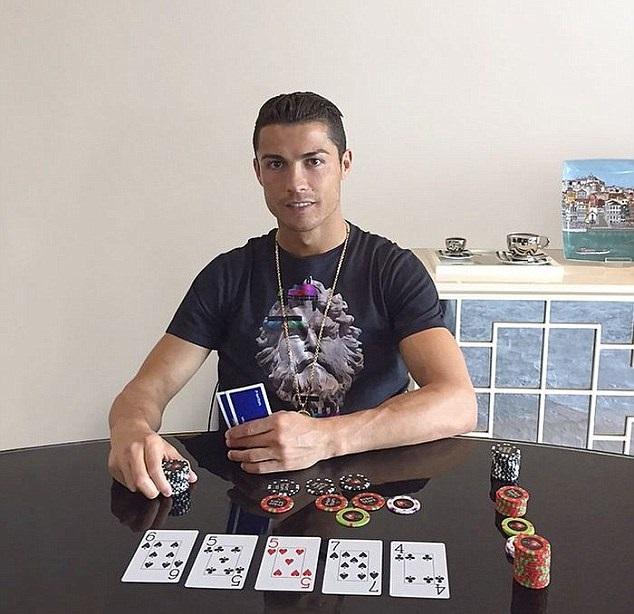 criatiano ronaldo poker
