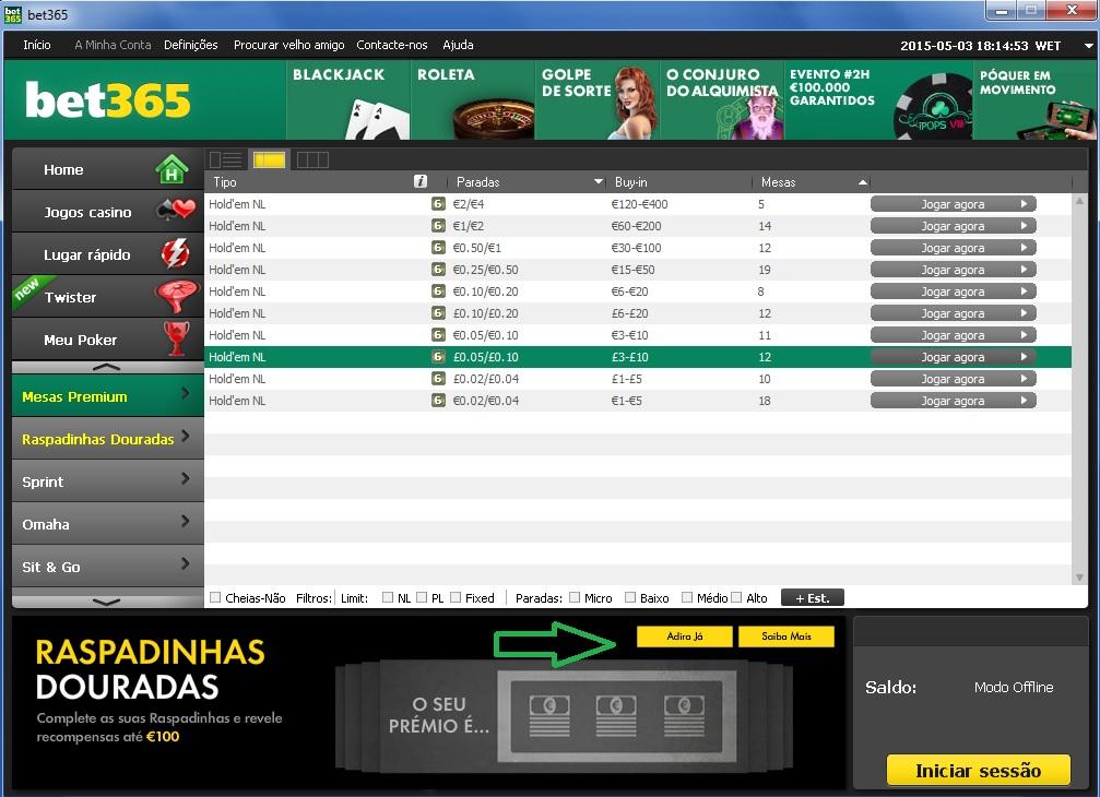 bet 265 poker