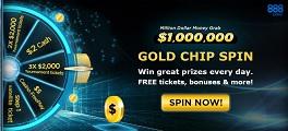 gold spin 888poker 264
