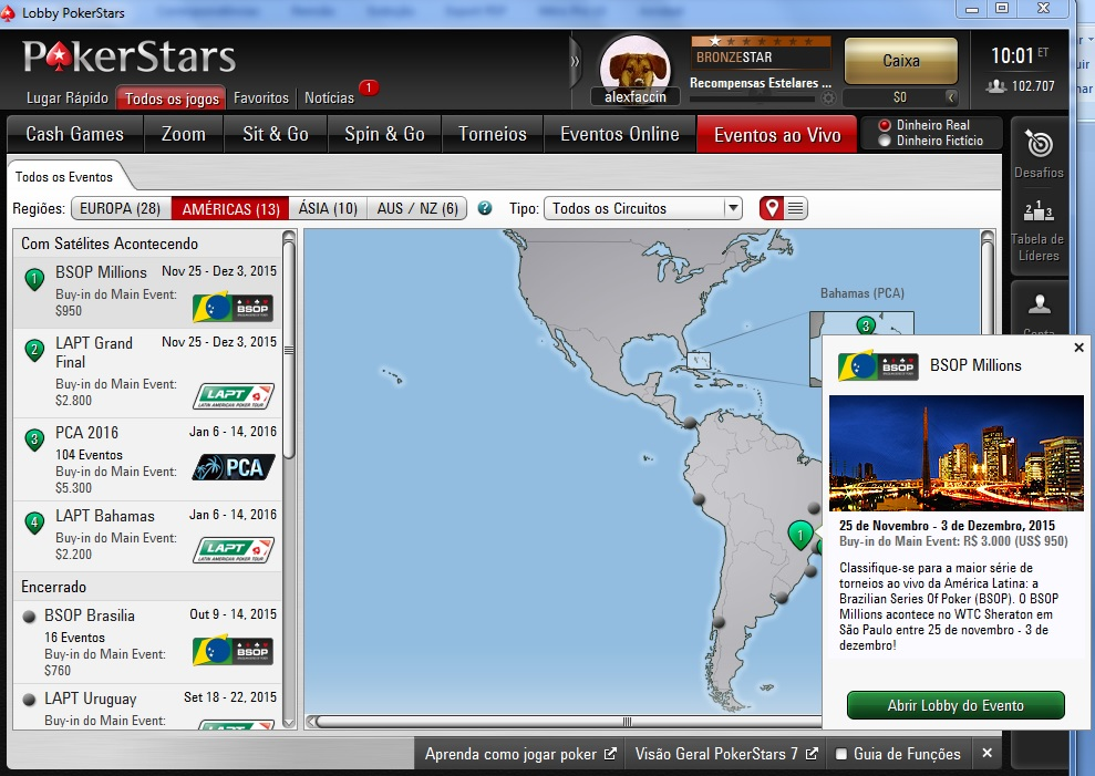pokerstars bsop millions satélites