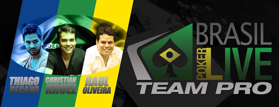 Brasil Poker Live Team Pro