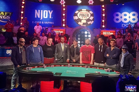 November Nine WSOP 2015