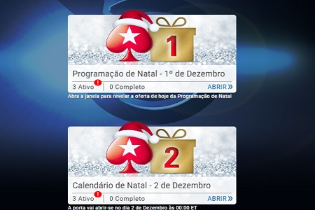 calendario de natal pokerstars 450