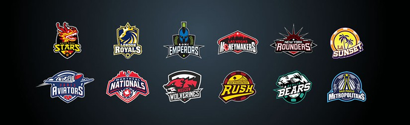 Global Poker League logos