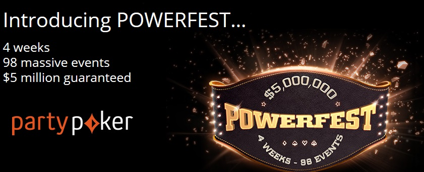 powerfest party poker g