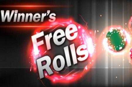 WINNERS FREEROLLS 450
