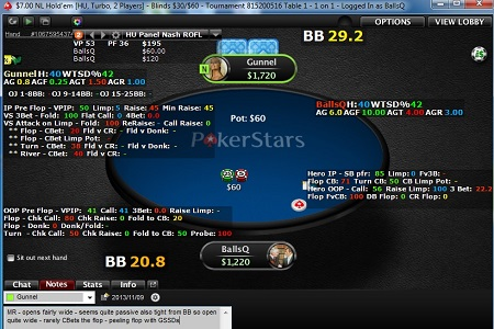 holdem manager heads up 450