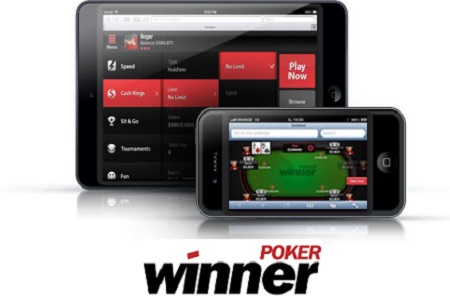 winner poker mobile 450