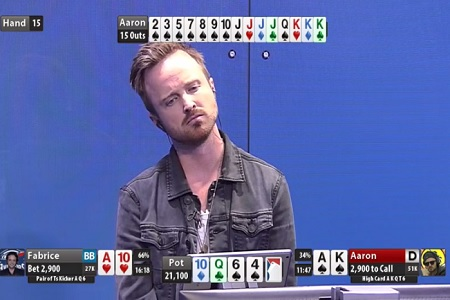 aaron paul outs 450