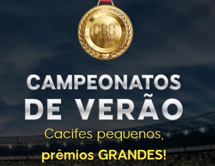 CAMPEONATOS DE VERÃO 888POKER
