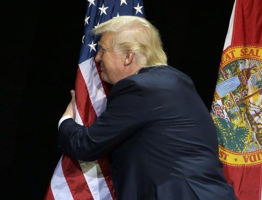 trump bandeira