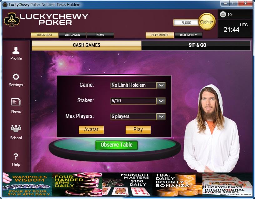 Luckychewypoker-lobby1
