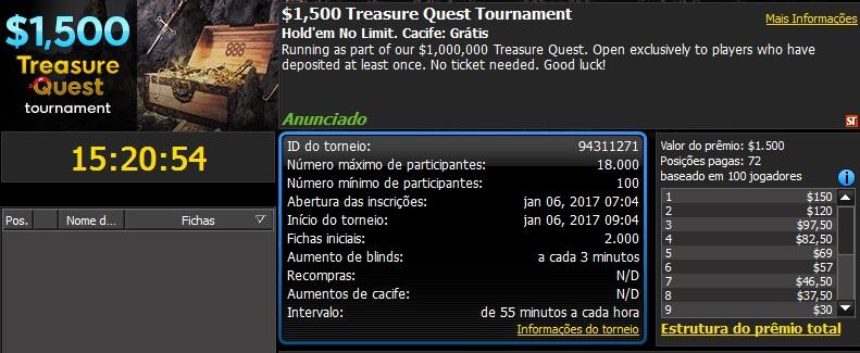 1500 treasure quest