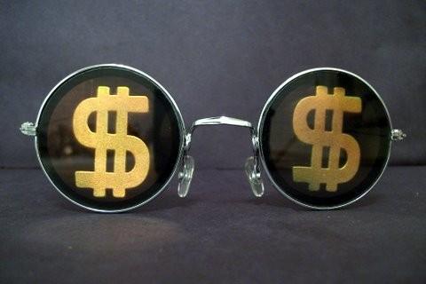 Óculos Escuro Cifrão