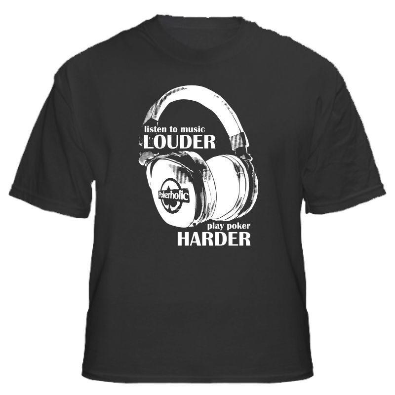 Camiseta Listen to Music Louder