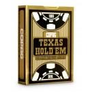 Baralho Texas Hold'em - Preto