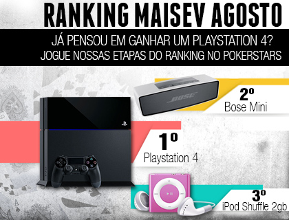 Ranking MaisEV agosto