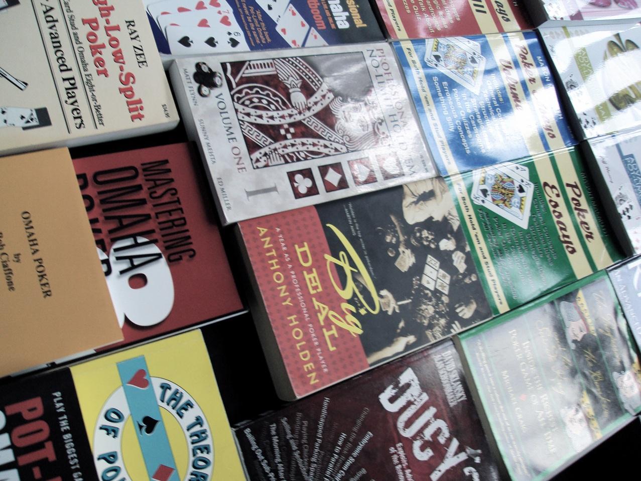 top 10 poker books