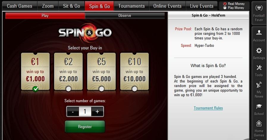Negreanu defende o Spin & Go